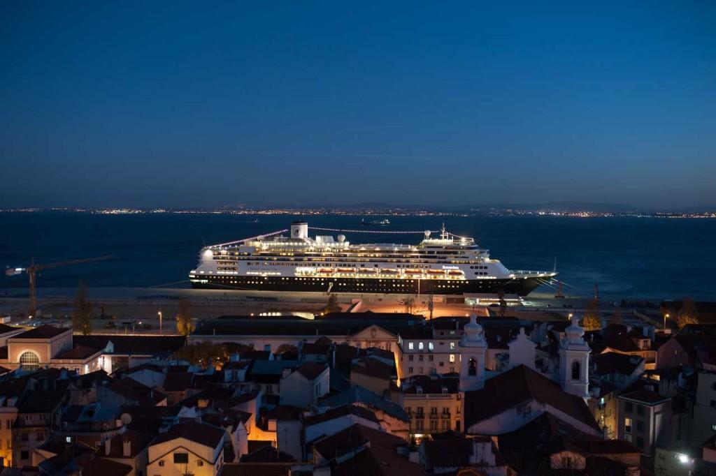 M/S Rotterdam: Unser Domizil in Lissabon